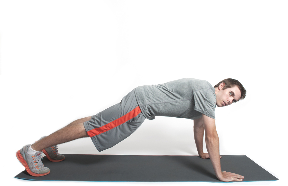 PUSH-UP (UP POSITION)