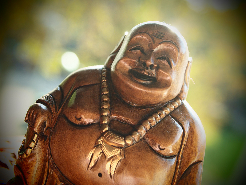 We'd all love to be more like Buddha -- except for his belly.