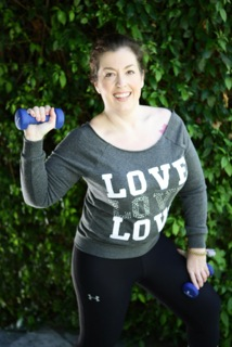 One hundred lost pounds later, Kelly is a trainer and Spinning instructor.