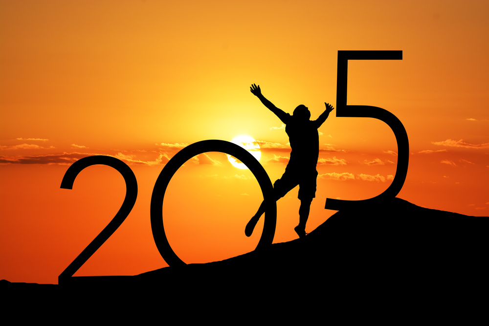 Welcome to a new year! What will you accomplish in 2015?