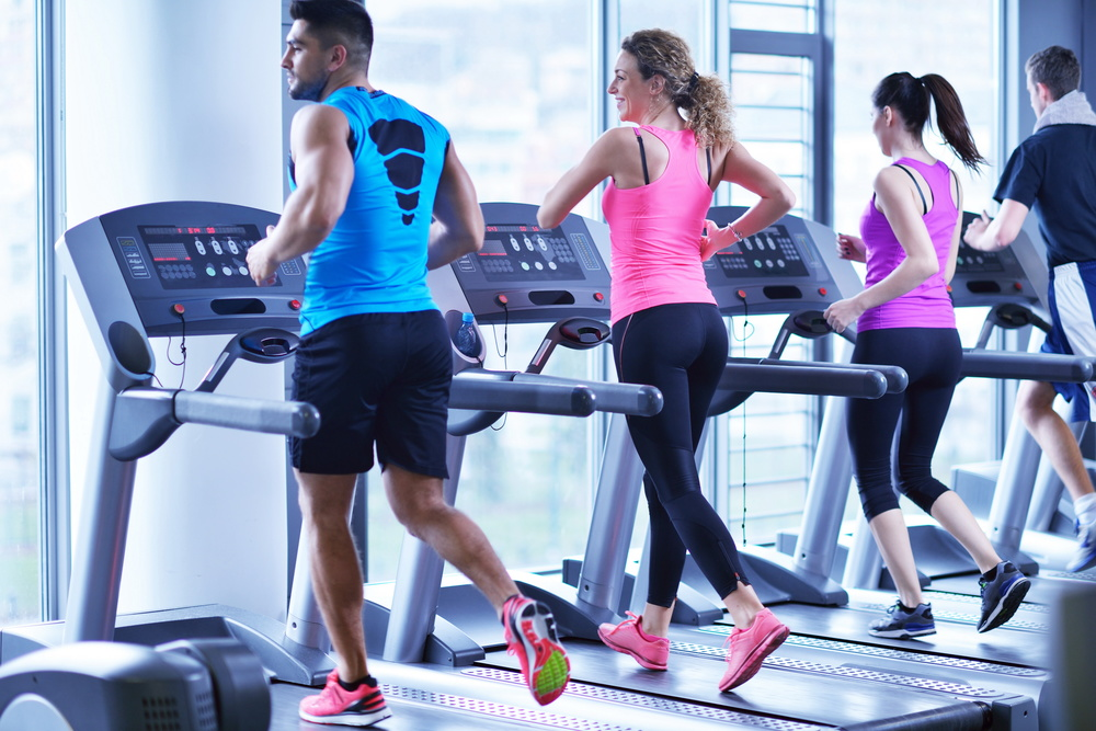 Don't phone in your time on the treadmill: Challenge yourself!