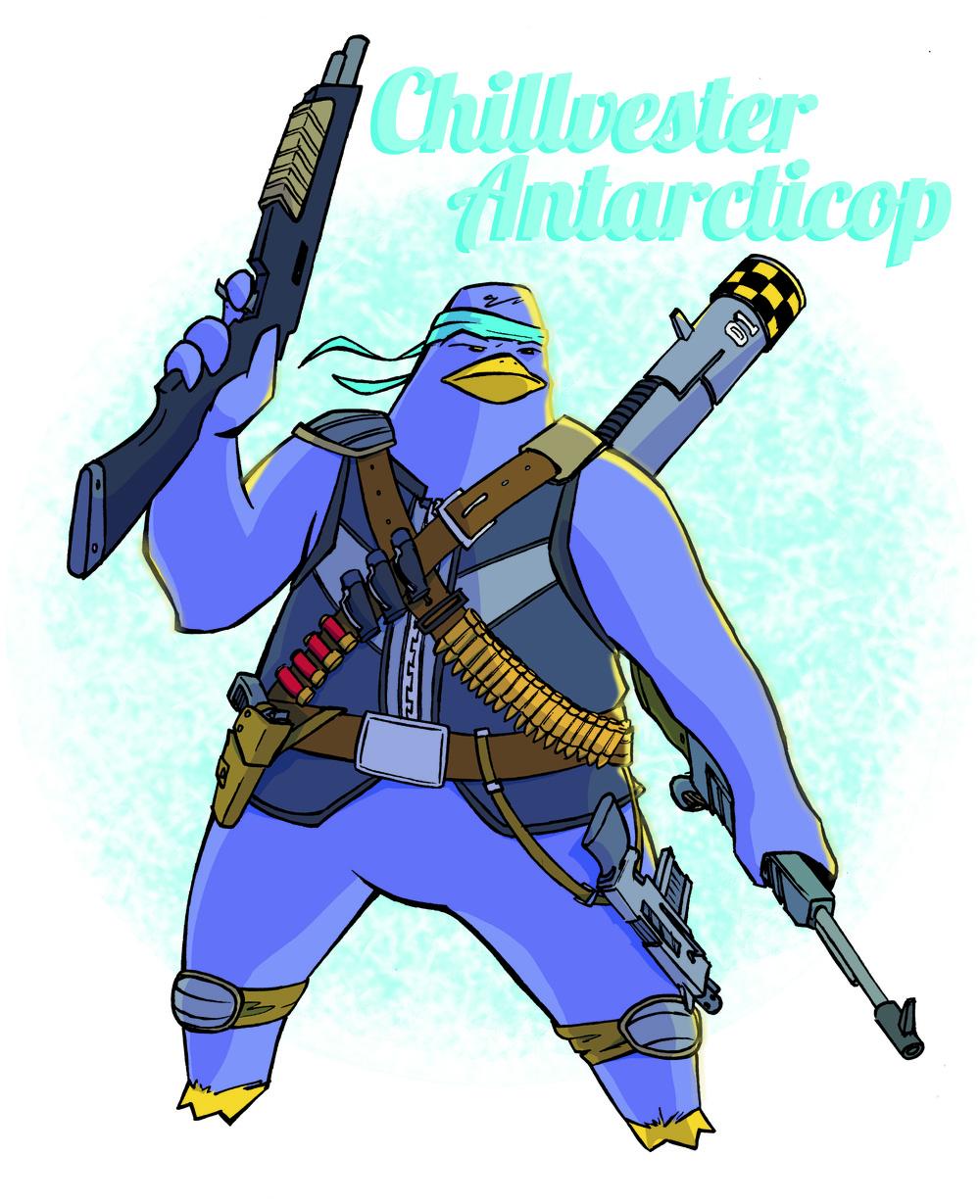 Chillvester Antarcticop