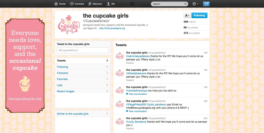 FOLLOW @THECUPCAKEGIRLSLV HERE