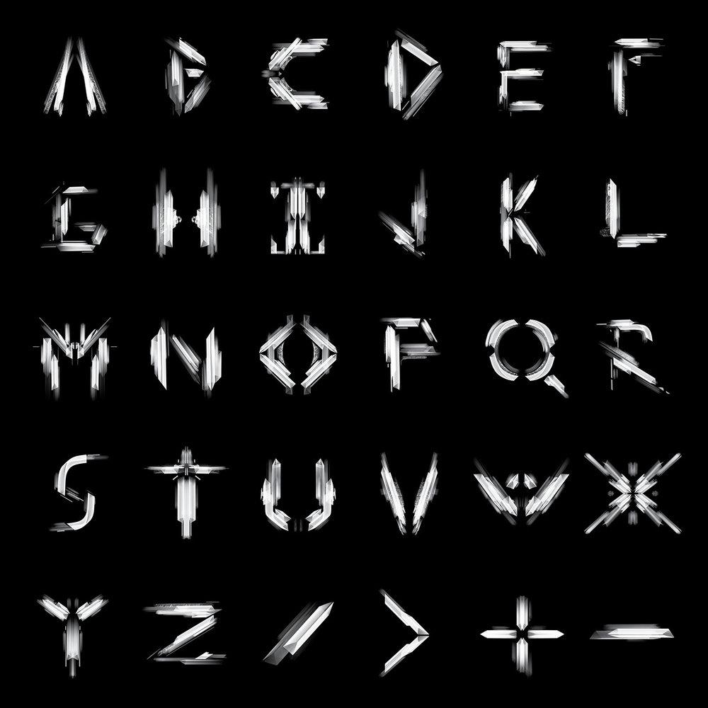 mech font