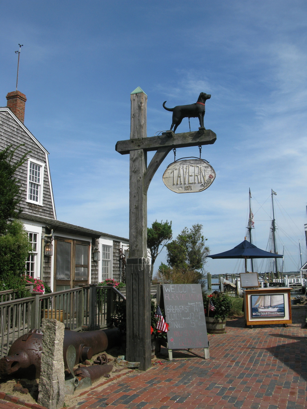 The Black Dog, Martha's Vineyard