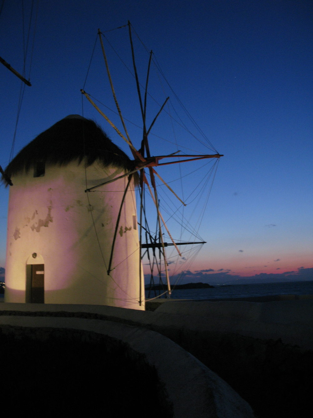Windmill, Mykonos Greece