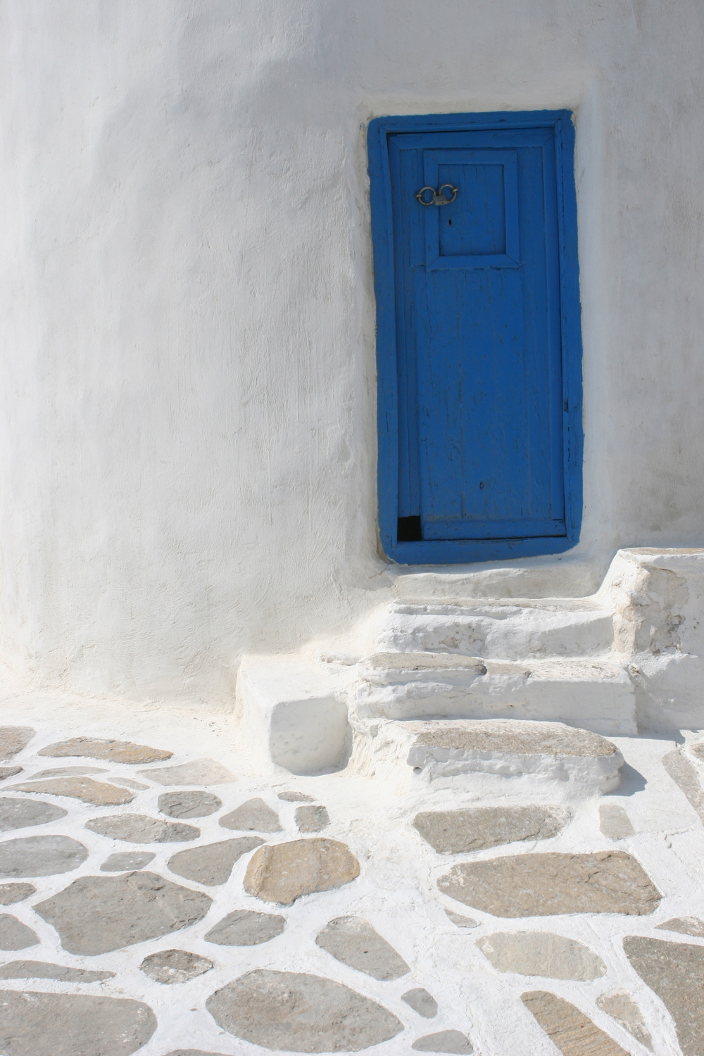 Blue door, Mykonos Greece