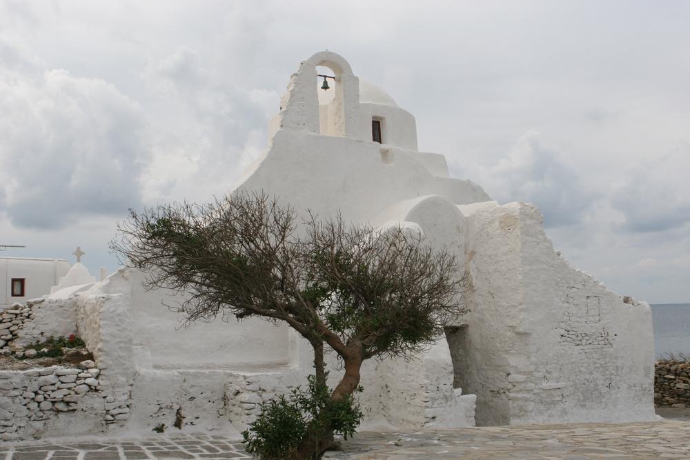 Church of Panagia Paraportiani, Mykonos Greece