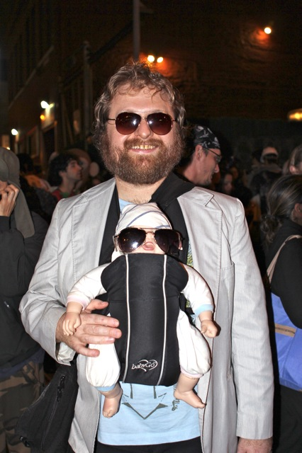 A good costume of Hangover star Zach Galifianakis. ©2013 Rita Rivera