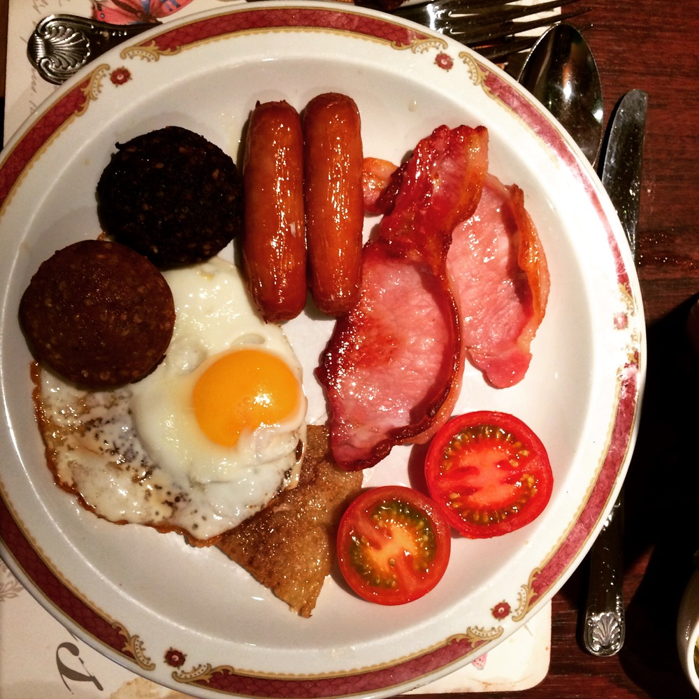 Irish breakfast in Ireland