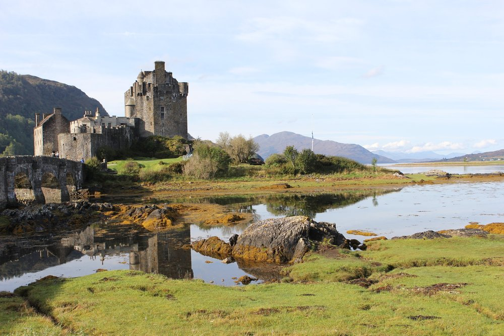 Eilean Donan, 13th Century Castle in the Highlands of Scotland