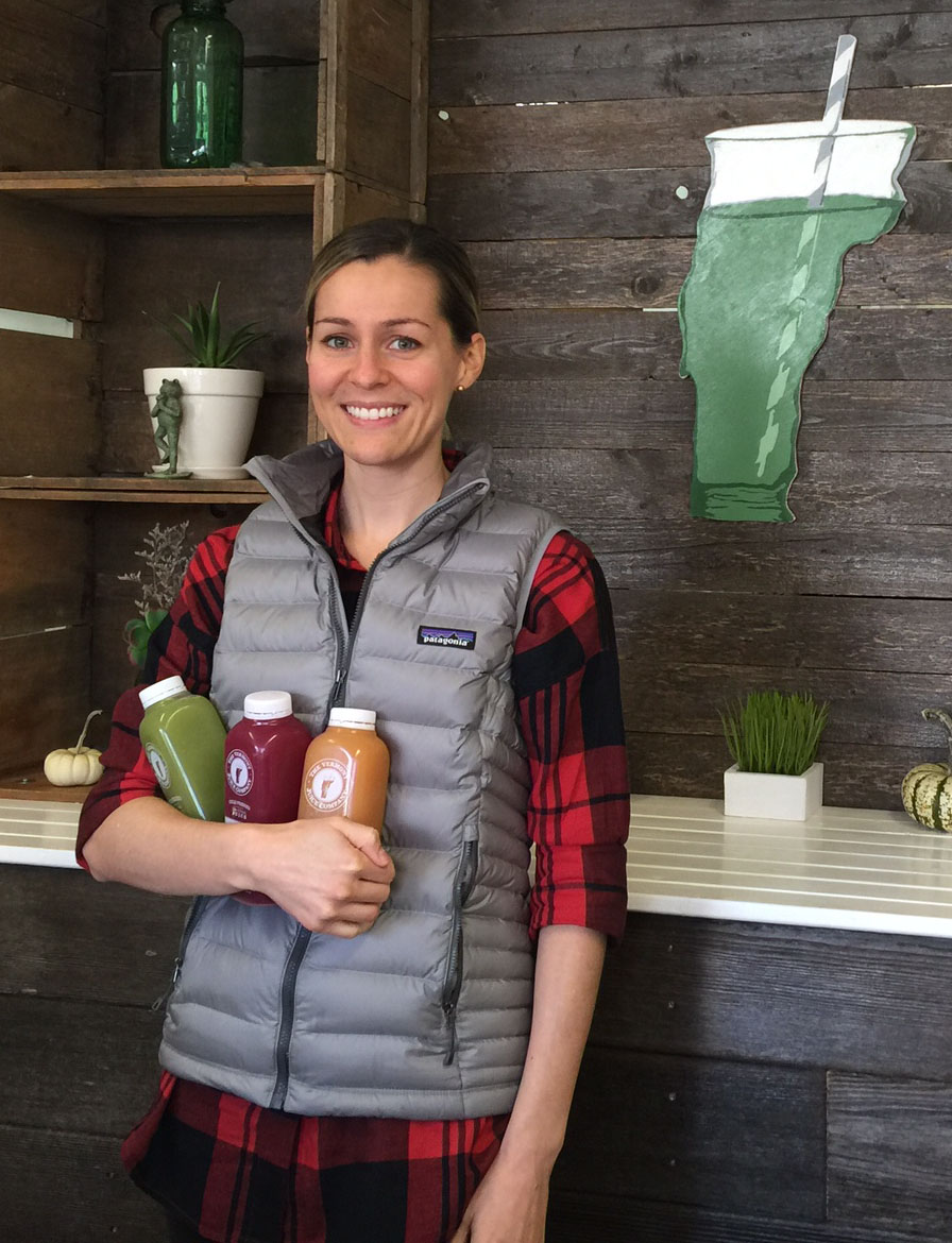Hannah George of Vermont Juice Company