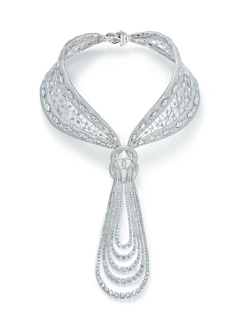 85-carat 'Eternal' Diamond Necklace    by Reena Ahluwalia with Forevermark.