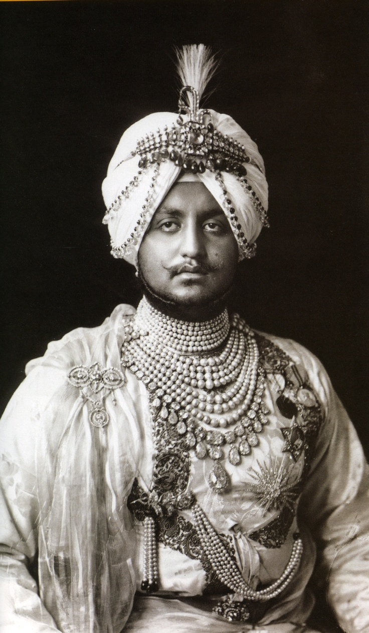 Maharaja Bhupendra Singh of Patiala. Image: © National Portrait Gallery, London