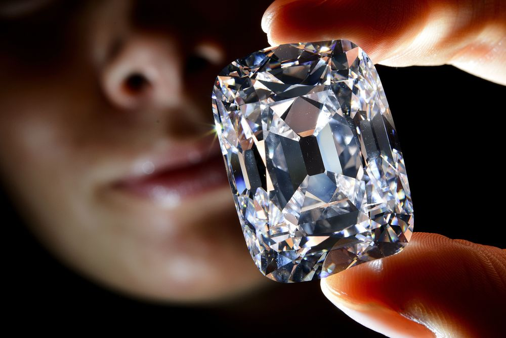 The Archduke Joseph Diamond. 76.02cts., D color, Internally Flawless, Type IIA. Image: APF