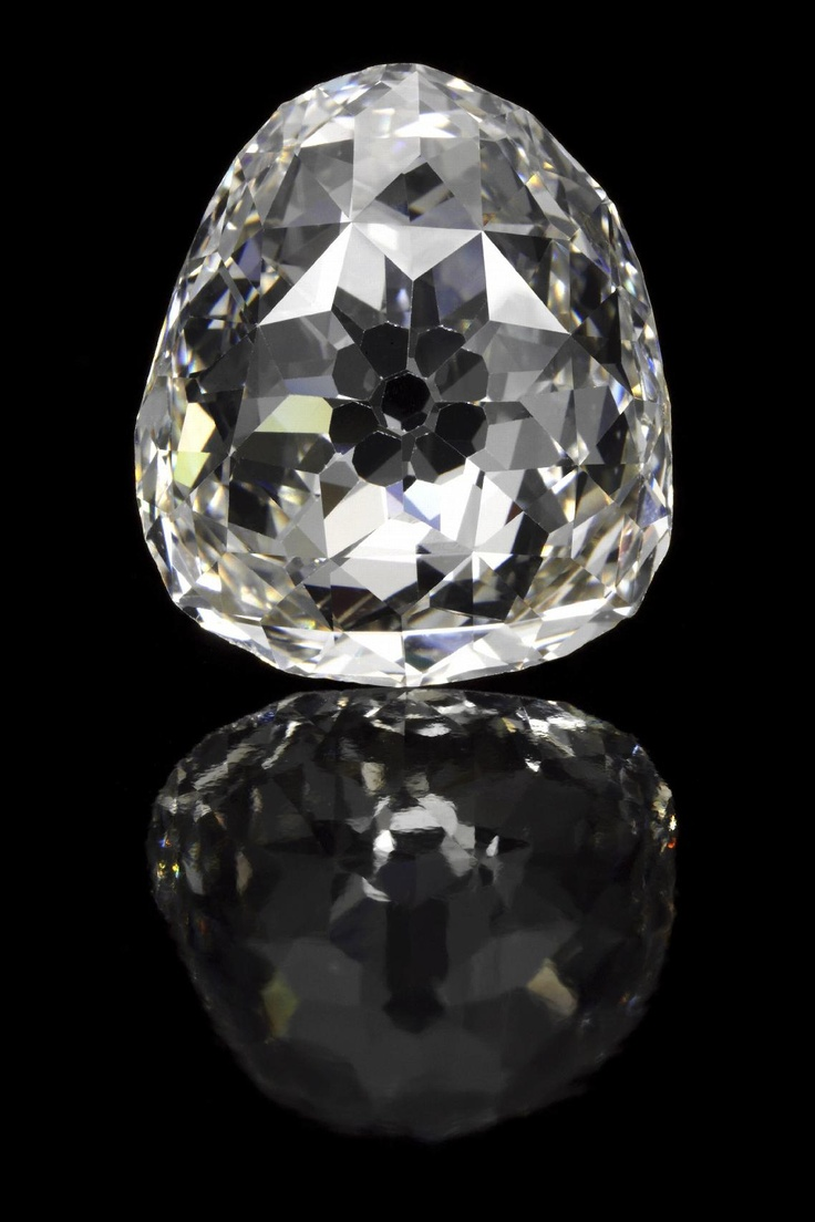 The Beau Sancy Diamond. Type IIa, 34.98 ct., modified pear, double rose cut diamond. The stone has passed through four European Royal families. Image: Sotheby's