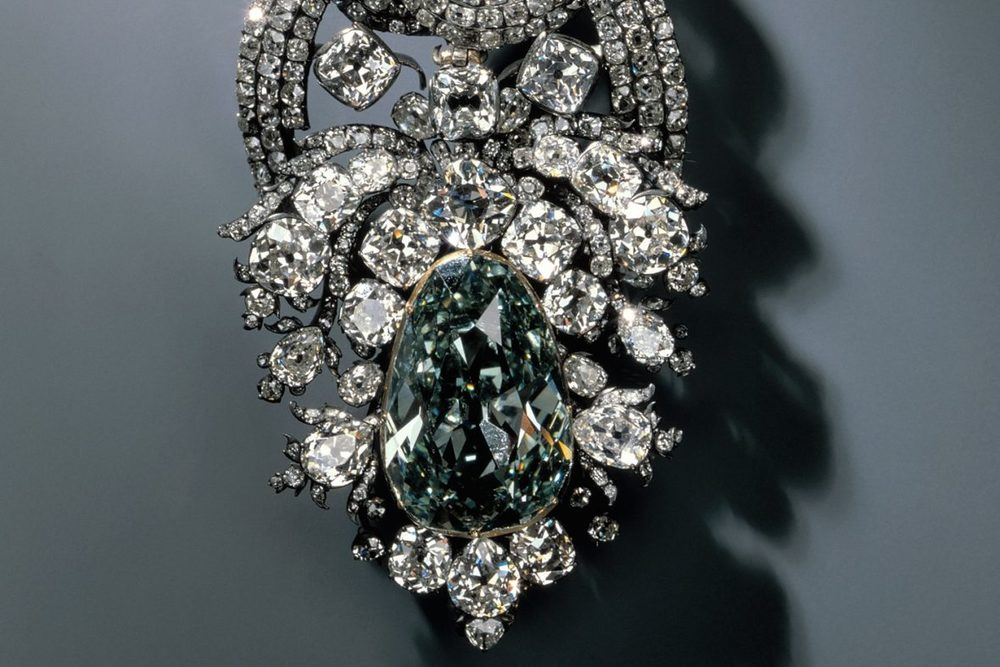 Famous Dresden Green Diamond.