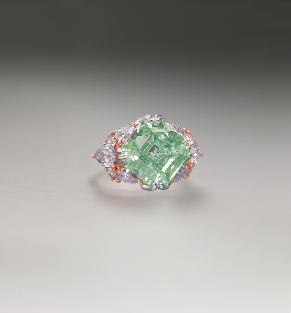 the diamond carat erasmus jewels extremely light vivid diamonds of an green optimum rare fancy collections ring greenish