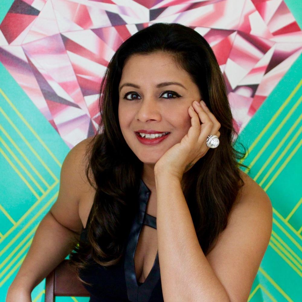 Reena Ahluwalia - the artist and the Jeweler-Who-Paints.