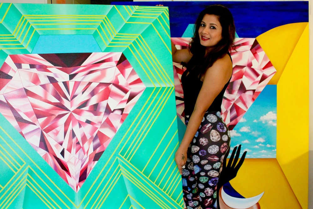 Reena Ahluwalia - the artist and the Jeweler-Who-Paints.