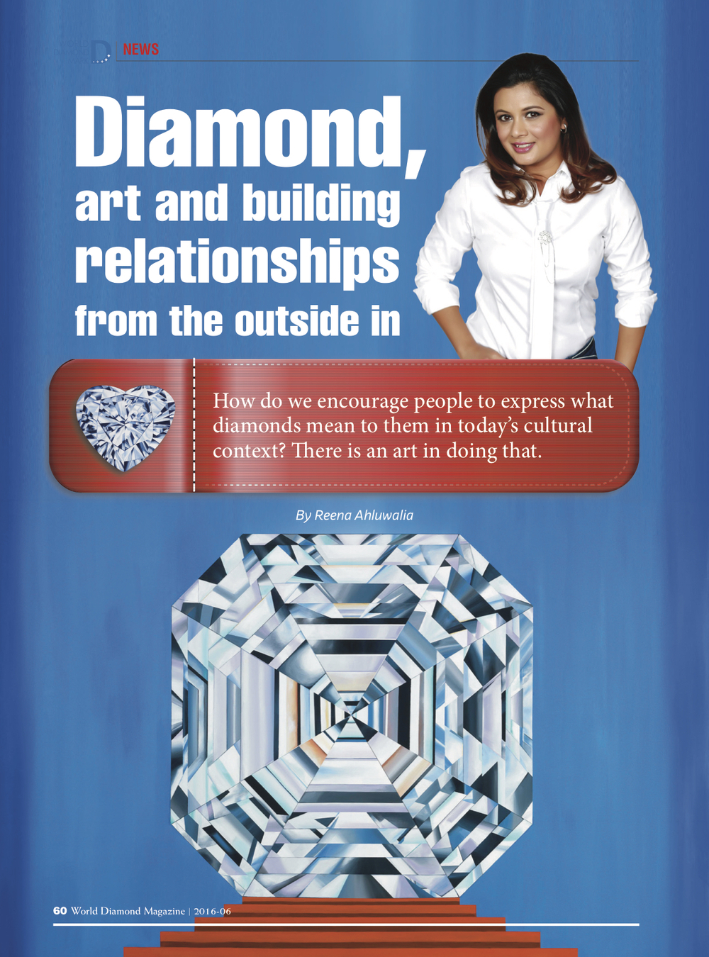 World Diamond Mark_Reena Ahluwalia Interview_Page1
