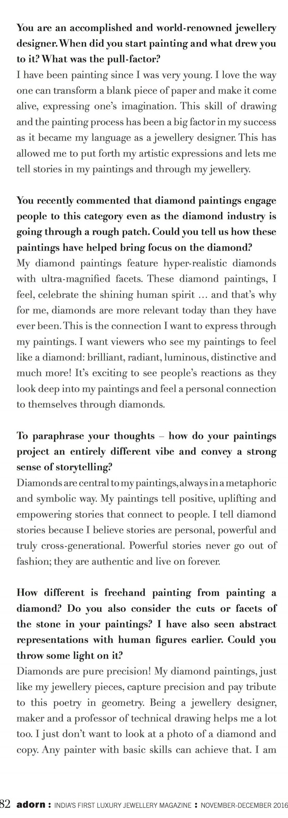 Reena Ahluwalia interview_2_Adorn Magazine_Diamond Painting