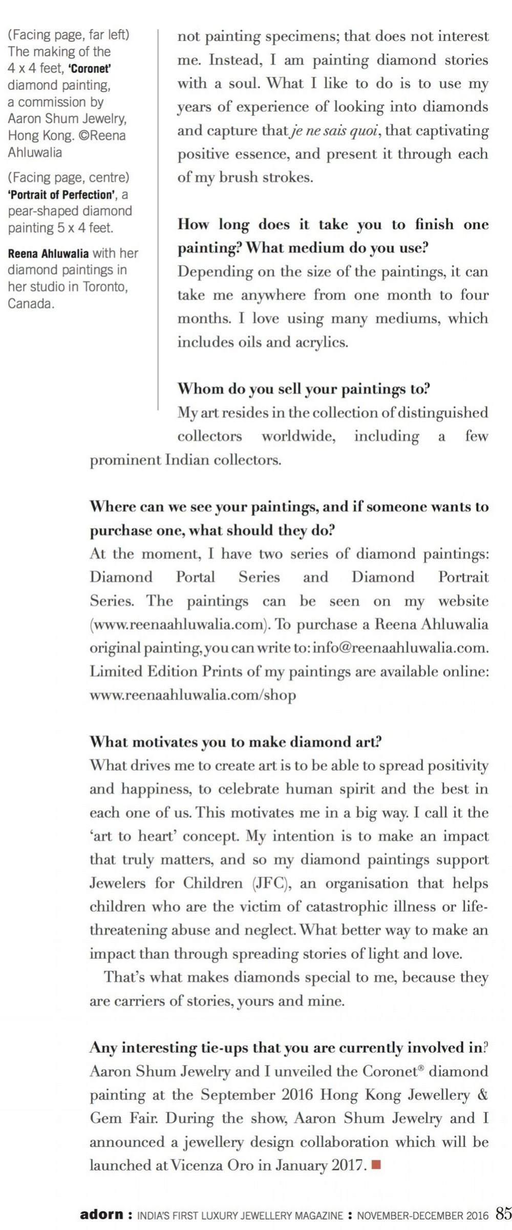 Reena Ahluwalia interview_6_Adorn Magazine_Diamond Painting