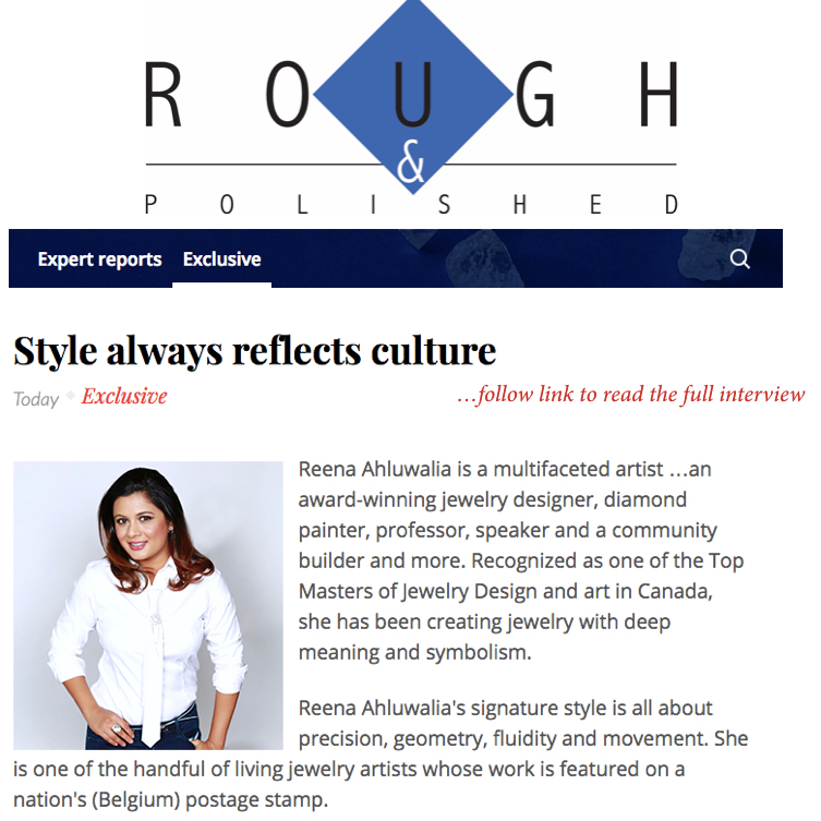 ROUGH & POLISHED. Editor: Aruna Gaitonde