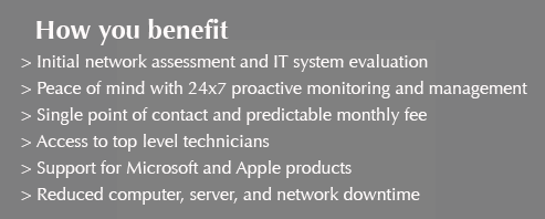 Tecoteric Managed Services Benefits