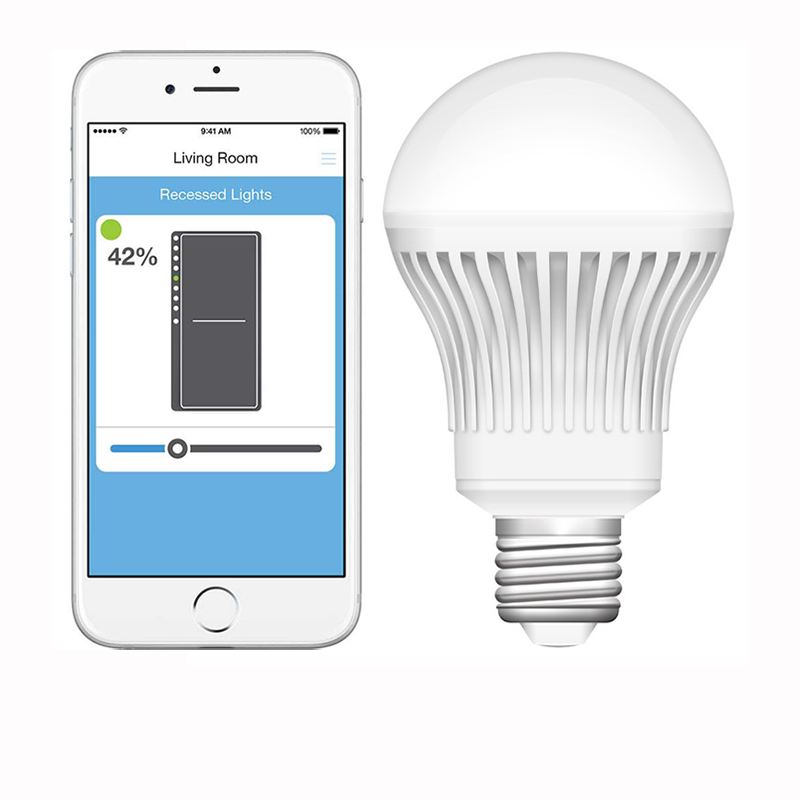 Choose from our many smart lighting packages. Control your favorite lamps or your entire home! Turn lights on before you enter your home, for added peace of mind.