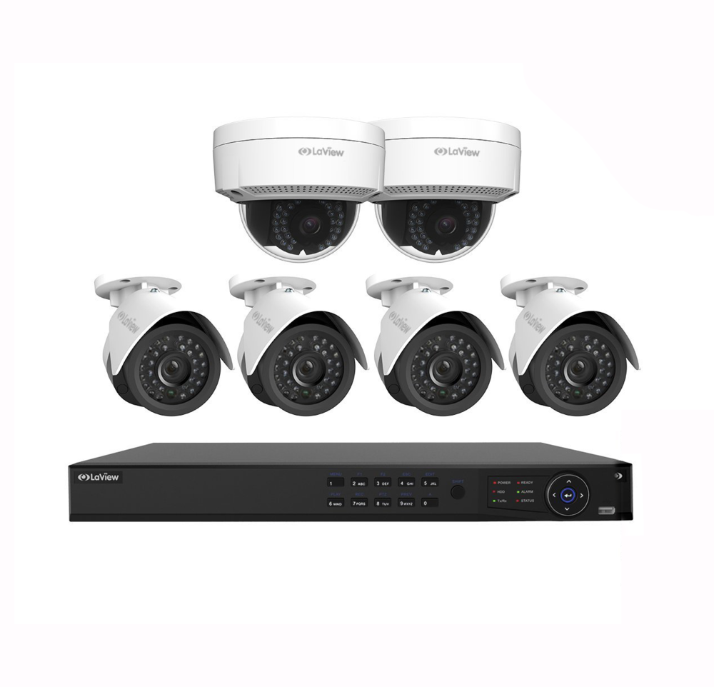 Surveillance is one of the fastest growing product lines. We offer affordable IP-based systems that allow you to view your home from your smartphone or tablet, anywhere in the world! You can also record footage to an NVR in your home, or in the cloud.