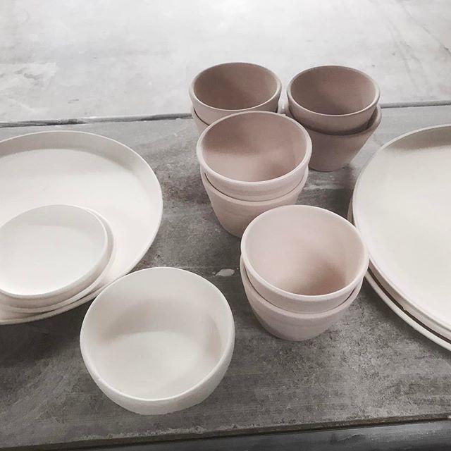 Producing the goods. #ceramics #handmade #buylocal