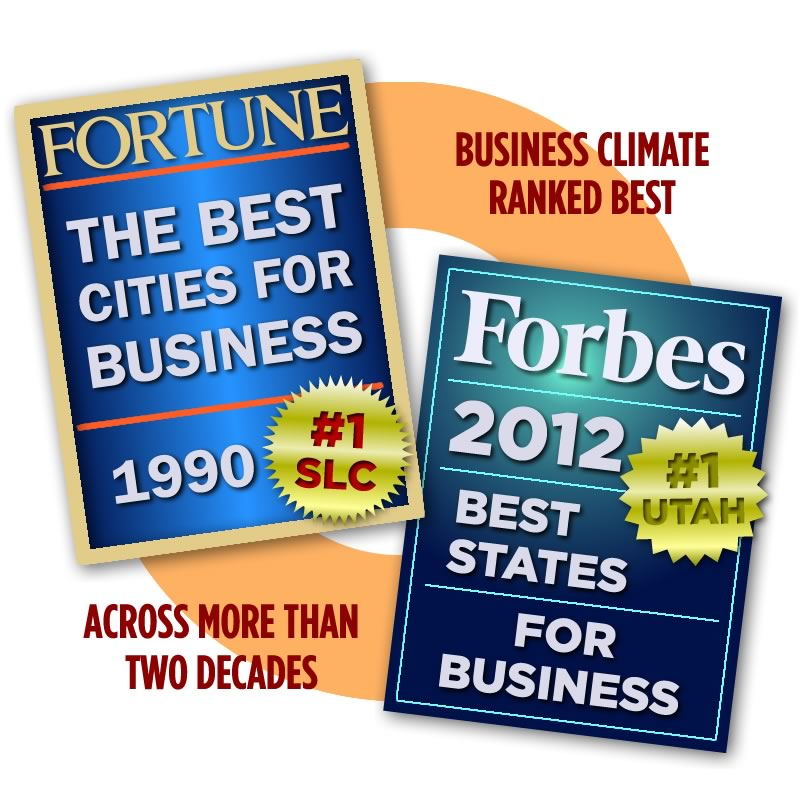 Utah's business climate holds strong from 1990 to present.