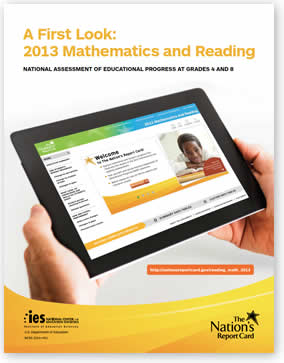 NAEP Evaluation of 2013 Progress in Grades 4 and 8. Download PDF file