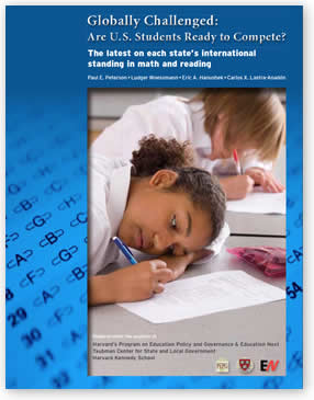 Globally Challenged: Each State's International Standing in Math and Reading. Download the PDF file