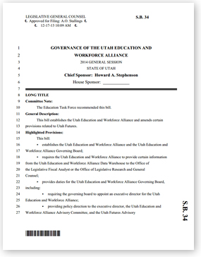 Workforce Alignment Bill Template Download the PDF file.