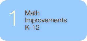 Math Improvements K-12 Return to Complete List of Platform Issues