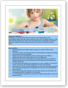 DLA Pre-K  Template Download the PDF file