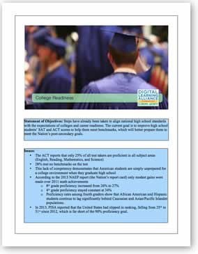 DLA College Readiness Policy Template Download the PDF file