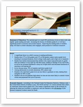 Literacy Improvement Policy Template Download the PDF file