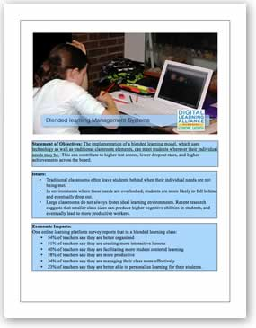 Blended Learning Management Systems Template Download the PDF file