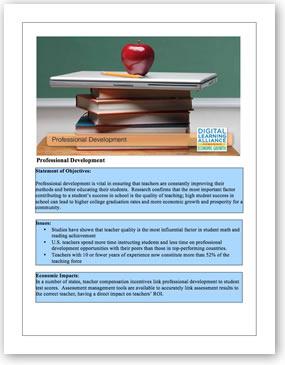 Professional Development Initiative Template. Download the PDF file