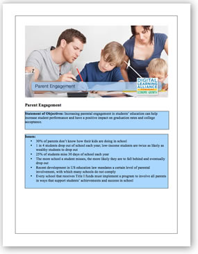 Parent Engagement Initiative Template. Download the PDF file
