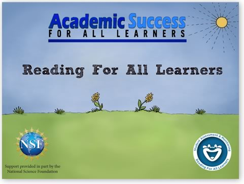 Academic Success: Reading for All Learners   Download PDF file
