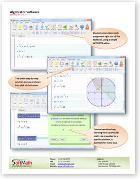 Algebrator Overview Download PDF file
