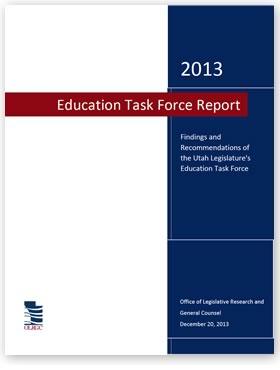 2013 Utah Education Task Force Report