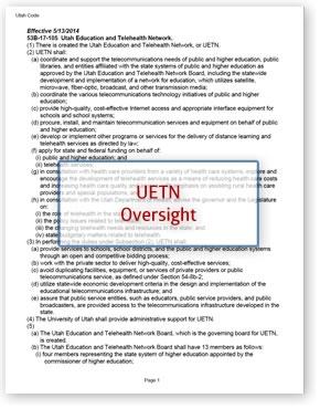 UETN Oversight