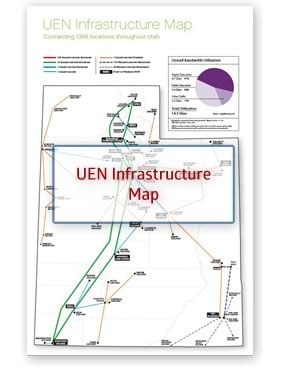 UEN Infrastructure Map