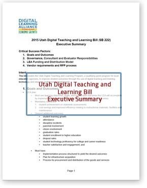 Utah SB 222 Executive Summary