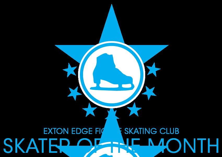 Exton Edge FSC Skater of the Month logo
